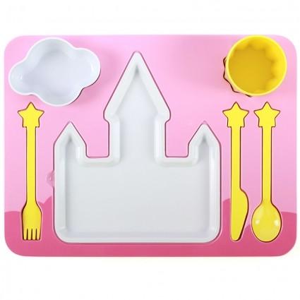 Поднос-сервиз для ребенка Princess