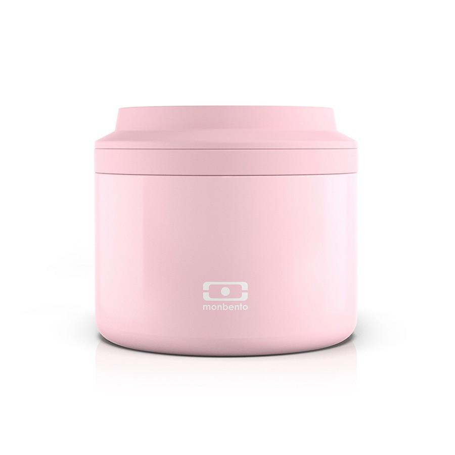 Ланч-бокс термос Monbento Element Нежно-розовый litchi (4000 01 066)