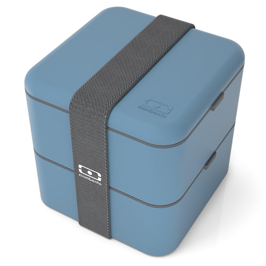 Ланч-бокс Monbento Square синий