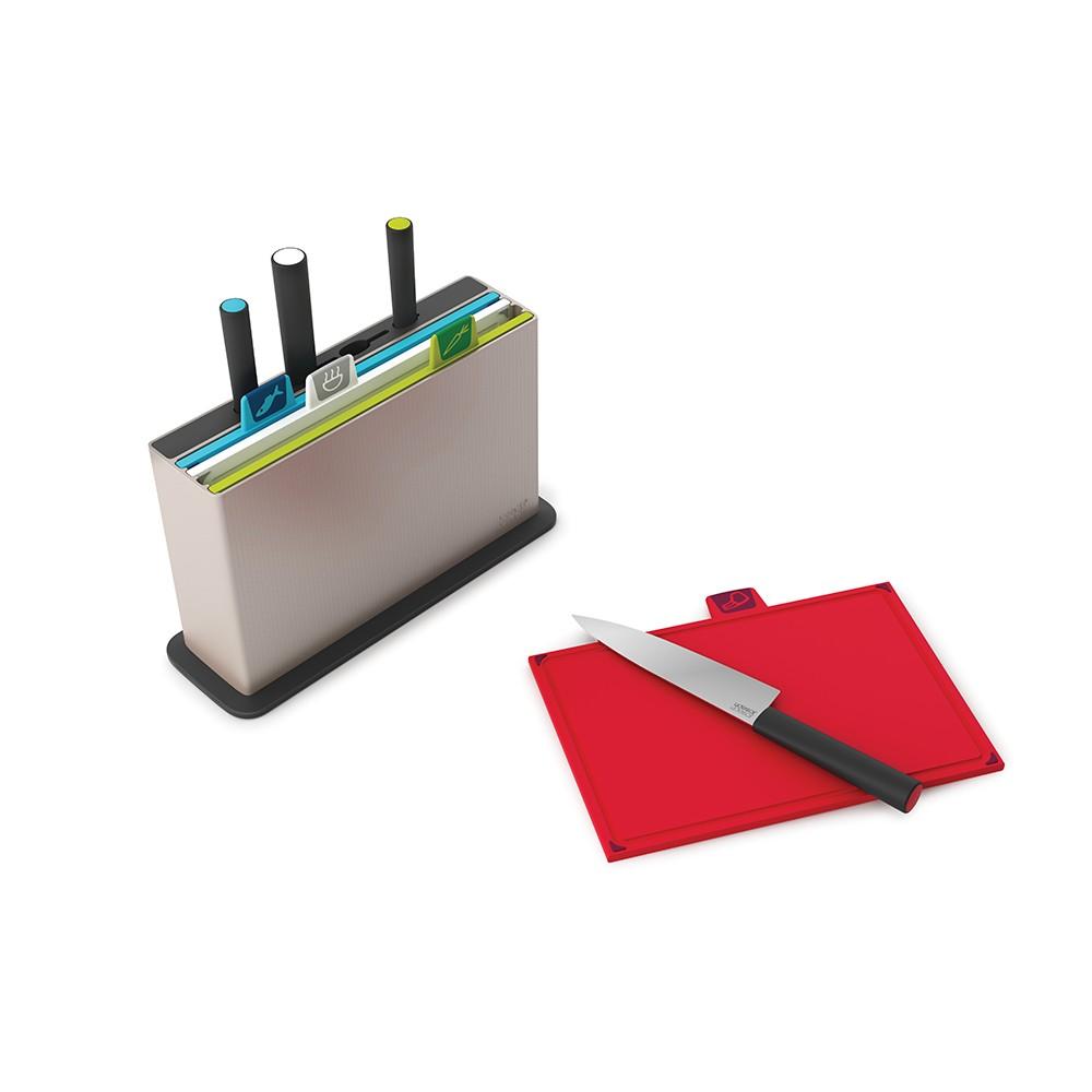 Набор разделочных досок с ножами Joseph Joseph Index Advance with knives (60096)
