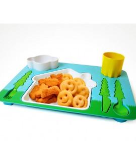 Поднос-сервиз для ребенка Landscape