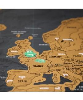 Карта путешественника Luckies Scratch Deluxe (LUKSD)