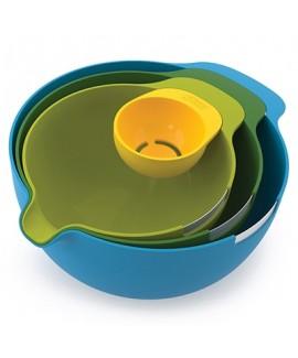 Набор мисок + отделитель белка Nest Mix