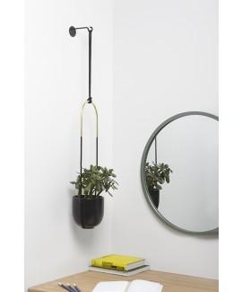 Горшок для растений подвесной Umbra Bolo Planter Black (1009571-040)