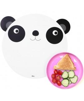 Коврик+миска Hungry panda