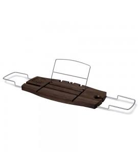 Полка для ванной орех Umbra Aquala Bathtub Caddy Walnut (020390-656)