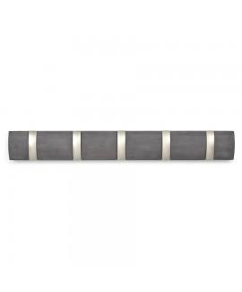 Вешалка настенная  5 крючков горизонтальная Umbra Flip 5