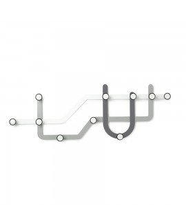 Вешалка Umbra Subway Multi Hook Grey (318187-023)