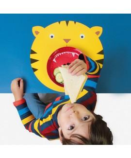 Коврик+миска Hungry tiger