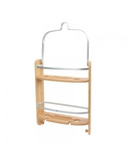 Органайзер для душа дерево Umbra Barrel Shower Caddy Natural (1005787-390)