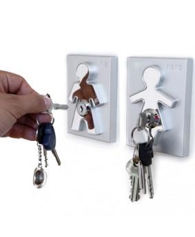 Холдер для ключей с брелком His