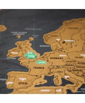 Карта путешественника Scratch Deluxe