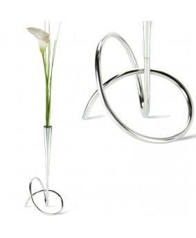 Металлическая ваза для цветов серии Loop
