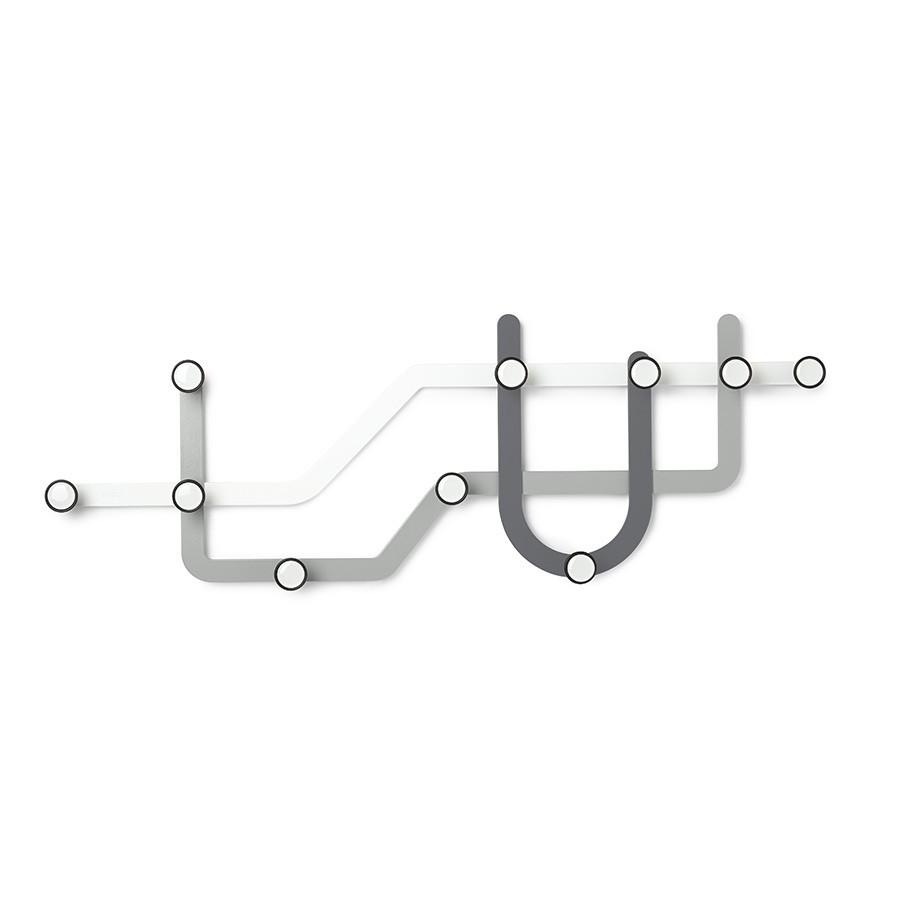 Вешалка Umbra Subway Multi Hook Grey (318187-023)
