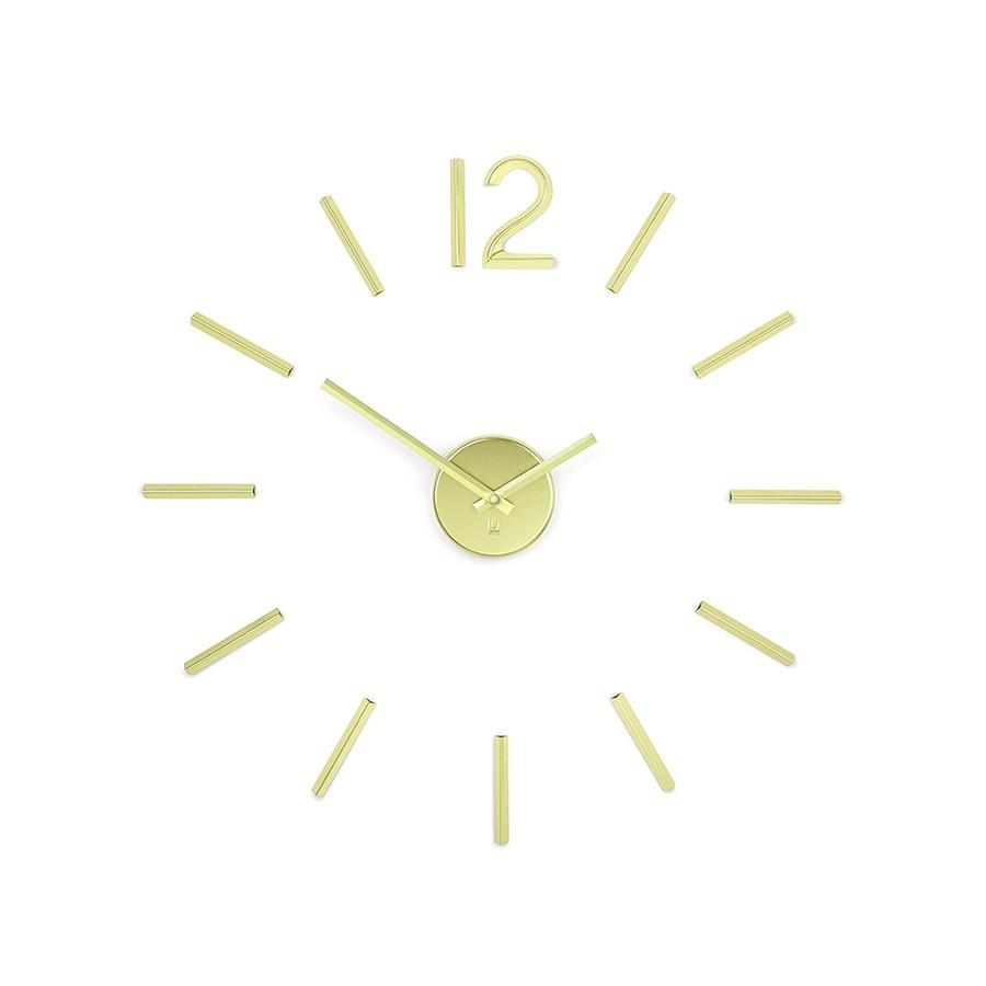 Часы настенные латунь Umbra Blink Clock Brass  (1013169-104)