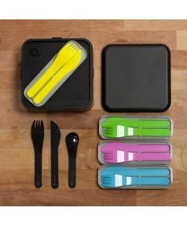 Набір з 3 столових приладів у футлярі MB Pocket color