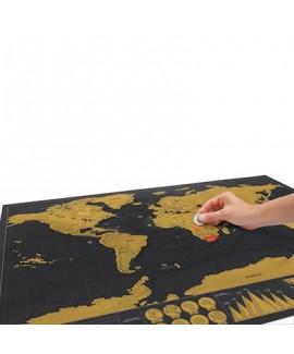 Карта мандрівника Scratch Deluxe