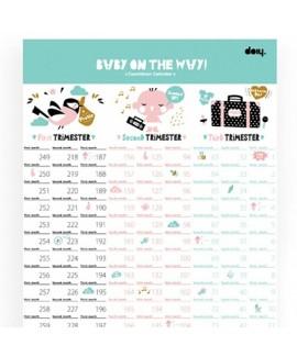 Календар для вагітних Doiy Baby (DOBCBAS)