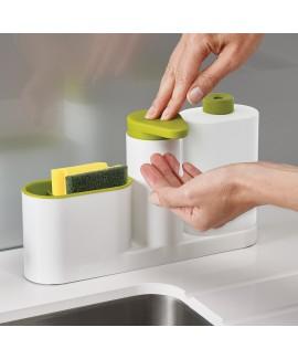 Органайзер для раковини з дозатором для мила і пляшкою SinkBase Plus