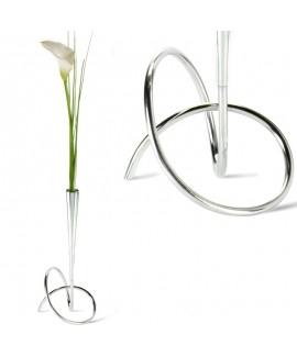 Металева ваза для квітів серії Loop