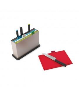 Набір обробних дошок з ножами Joseph Joseph Index Advance with knives (60096)