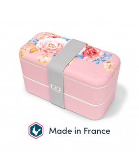 Ланч-бокс Monbento Original made in France porcelaine flower
